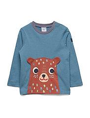 T-shirt l/s applique  Preschool - BLUE HEAVEN