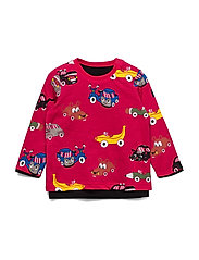 T-shirt  L/s  print Preschool - BLACK