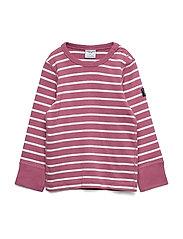 T-shirt L/S Stripe Preschool - HEATHER ROSE