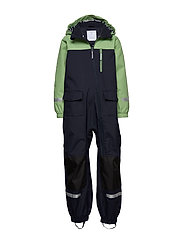 Shell Overall Preschool - MINERAL GREEN