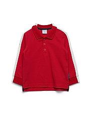 Top l/s Preschool - ROCOCCO RED