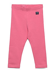 Leggings Solid Preschool - PINK CARNATION