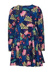 Dress Jersey AOP School - DEEP ULTRAMARINE