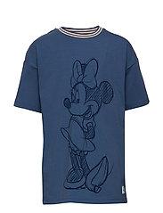 Disney Collection T-shirt print School - MOONLIGHT BLUE