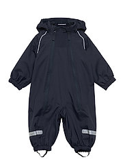 Overall Shell Lined Baby - DARK SAPPHIRE