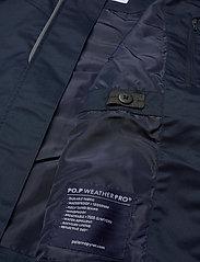 Polarn O. Pyret - Jacket Long School - shell jassen - dark sapphire - 9