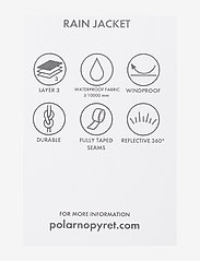 Polarn O. Pyret - Rain Jacket Stripe Preschool - overall - dawn pink - 2