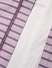 Polarn O. Pyret - Rain Jacket Stripe Preschool - overall - dawn pink - 5