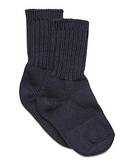 Thick Wool Sock Preschool - DARK SAPPHIRE