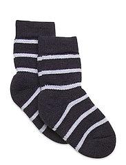 Sock Wool Terry Preschool - DARK SAPPHIRE