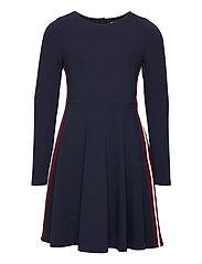 Dress l/s Jersey School - DARK SAPPHIRE
