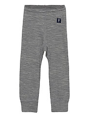 Long Johns Wool Solid Baby - GREYMELANGE