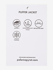 Polarn O. Pyret - Jacket Padded School - gewatteerde jassen - black - 6
