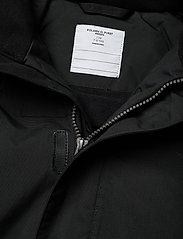 Polarn O. Pyret - Jacket Padded w Hood School - parkas - black - 6