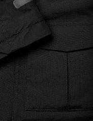 Polarn O. Pyret - Jacket Padded w Hood School - parkas - black - 7