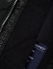 Polarn O. Pyret - Jacket Padded w Hood School - parkas - black - 8