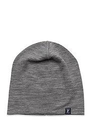 Cap Wool Solid - GREYMELANGE