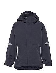 Jacket Shell Solid - DARK SAPPHIRE
