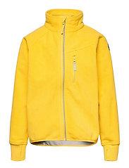 Jacket Windfleece Solid - LEMON DROP