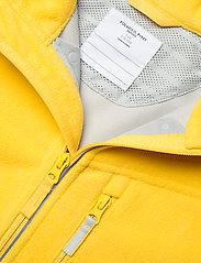 Polarn O. Pyret - Jacket Windfleece Solid - fleece - lemon drop - 3