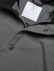 Polarn O. Pyret - Overall Shell Lined Preschool - shell clothing - gunmetal - 3
