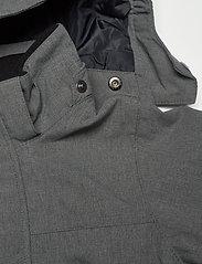 Polarn O. Pyret - Overall Shell Lined Preschool - shell clothing - gunmetal - 4