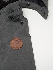 Polarn O. Pyret - Overall Shell Lined Preschool - softshells - gunmetal - 5