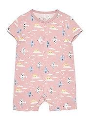 Pyjamas Overall AOP Baby - PALE MAUVE