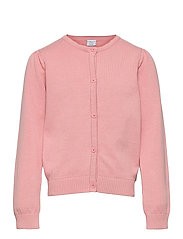 Cardigan Knitted Solid School - BRIDAL ROSE