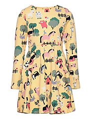 Dress AOP jersey Preschool - IMPALA