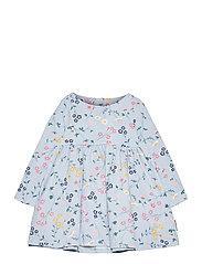 Dress AOP jersey Preschool - BLUE FOG