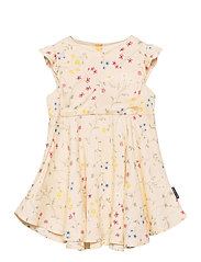Dress Woven AOP Preschool - MOTHER OF PEARL