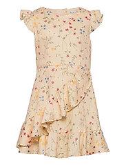 Dress Woven AOP School - MOTHER OF PEARL