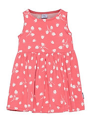 Dress Jersey AOP s/s Preschool - TEA ROSE
