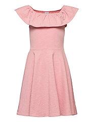 Dress Jersey solid s/s School - BRIDAL ROSE