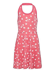 Dress Jersey AOP s/s School - TEA ROSE