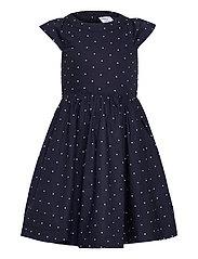Dress woven AOP School - DARK SAPPHIRE