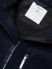 Polarn O. Pyret - Jacket Windfleece Solid - fleece - dark sapphire - 3
