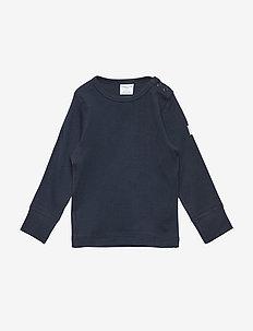 T-shirt Solid l/s Baby - DARK SAPPHIRE