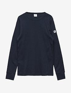 T-shirt Solid l/s - langärmelige - dark sapphire