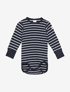 Body PO.P Stripe l/s Baby - DARK SAPPHIRE
