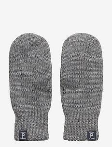 Mitten Wool Preschool - vantar - greymelange