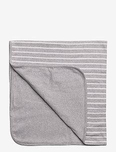 Blanket PO.P Stripe - slapen - greymelange