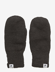 Mitten Wool Preschool - ull-klær - black