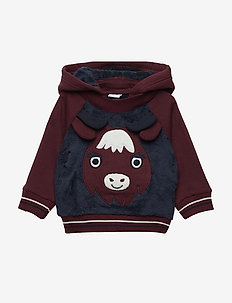 Sweatshirt Hood Baby - MOOD INDIGO