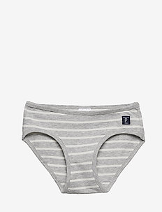 Brief PO.P Stripe 1-p - GREYMELANGE