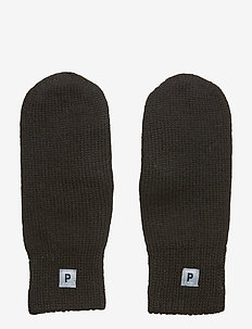 Mitten Wool School - vantar - black