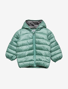 Baby Puffer Jacket with Hood - MALACHITE GREEN