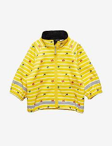 Waterproof Baby Rain Jacket - MAIZE