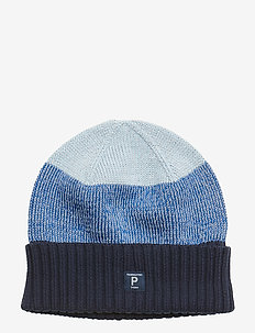 Reflective Hat with Turn-Up - DARK SAPPHIRE